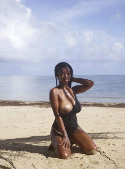 黒人美女 画像075