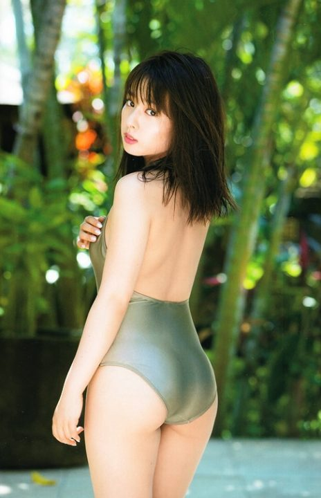 山田菜々 ヌード&水着画像026