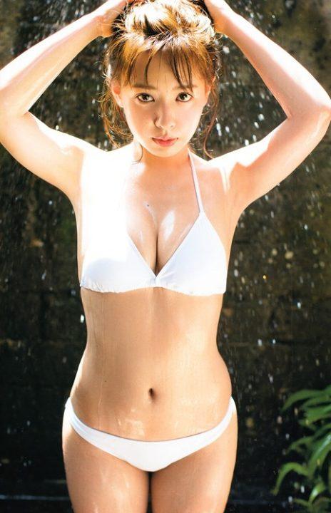 山田菜々 ヌード&水着画像073