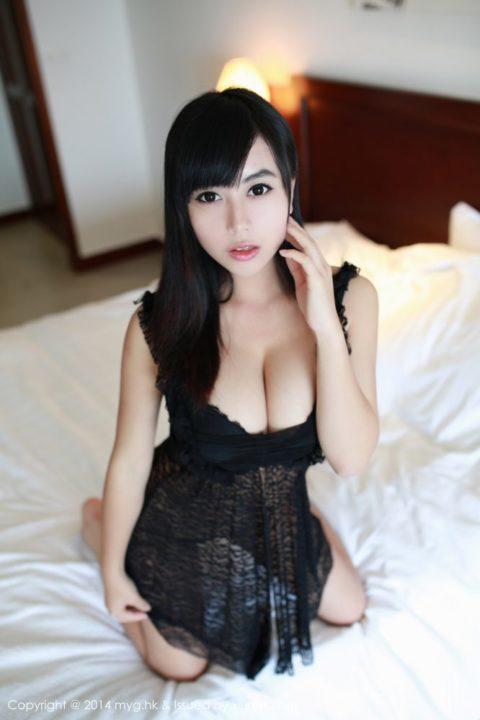 中国グラドル 黄可 画像009