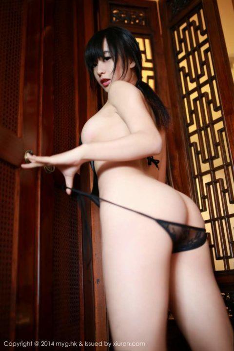 中国グラドル 黄可 画像031