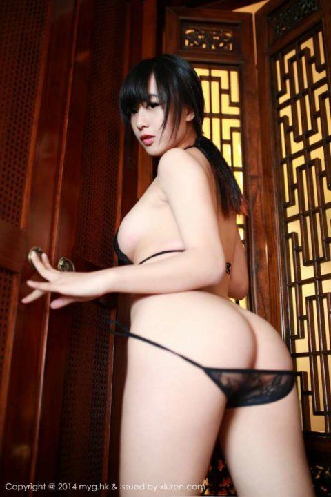 中国グラドル 黄可 画像032