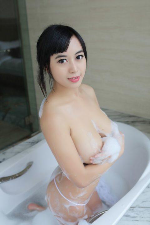 中国グラドル 黄可 画像126