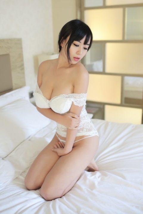 中国グラドル 黄可 画像149
