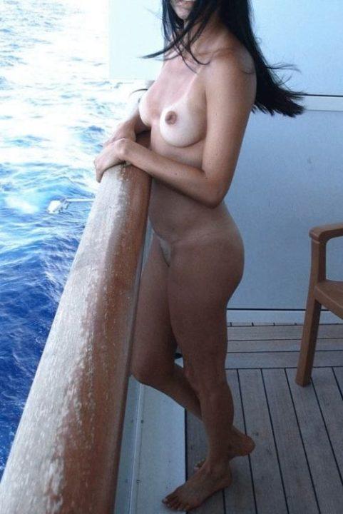 船上露出 画像024