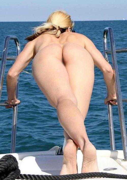 船上露出 画像025