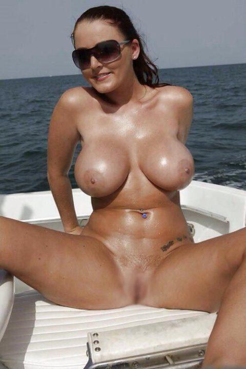 船上露出 画像028