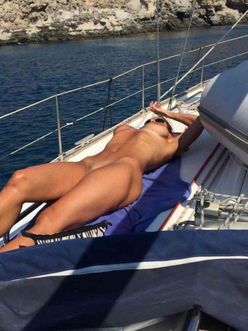 船上露出 画像029