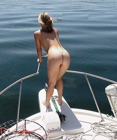 船上露出 画像032