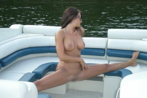 船上露出 画像094
