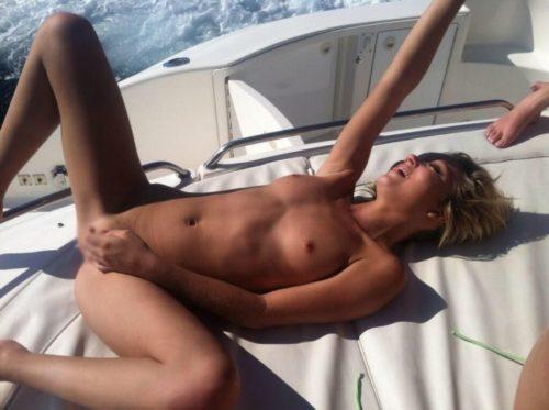 船上露出 画像095