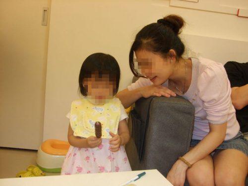 子連れママパンチラ 画像104