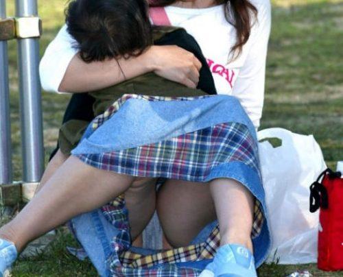 子連れママパンチラ 画像116