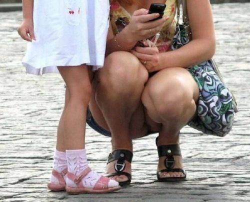 子連れママパンチラ 画像124