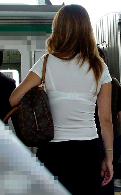 Tシャツ街撮り 画像012