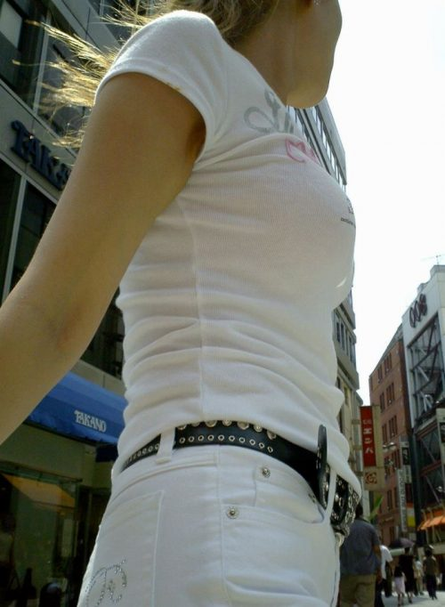Tシャツ街撮り 画像089