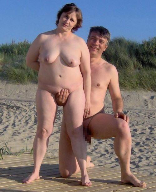 夫婦ヌード画像 001