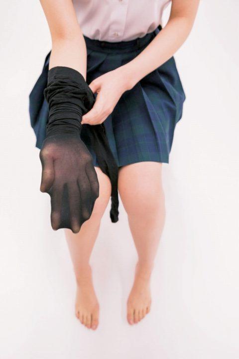 黒タイツ画像 038