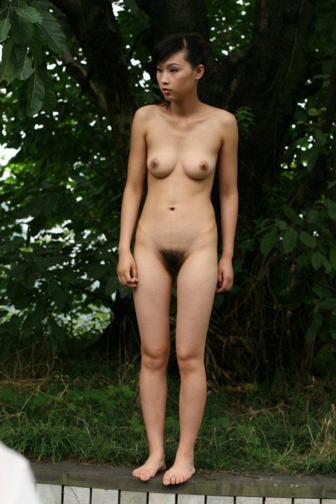 中国人野外ヌード画像 116