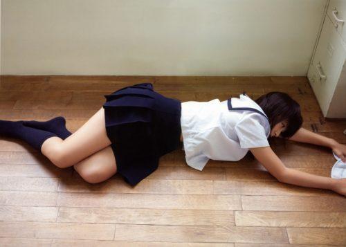 福田花音 水着画像 032