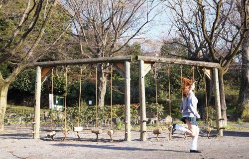 公園少女 画像003