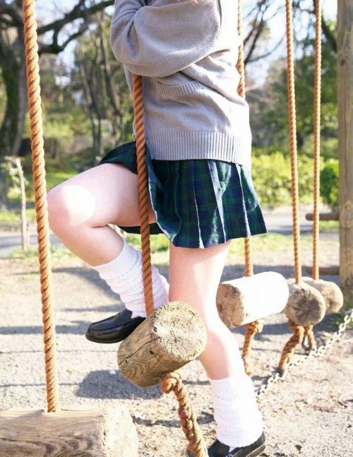 公園少女 画像004