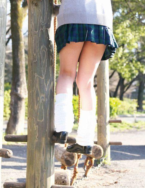 公園少女 画像005