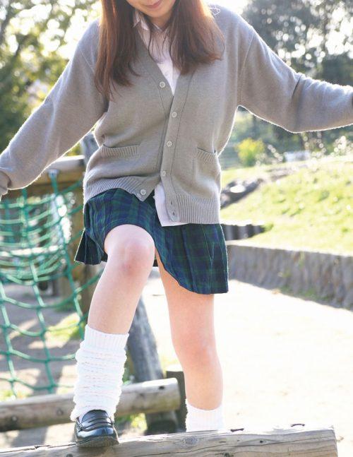 公園少女 画像006