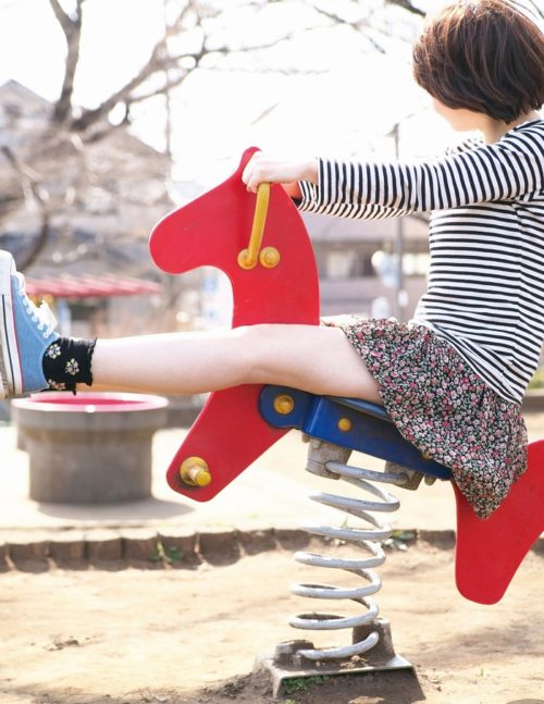 公園少女 画像008
