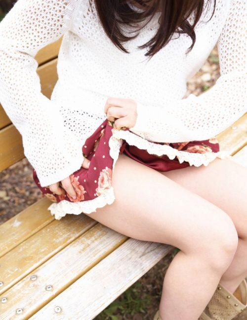 公園少女 画像014
