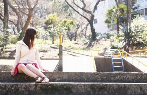 公園少女 画像026