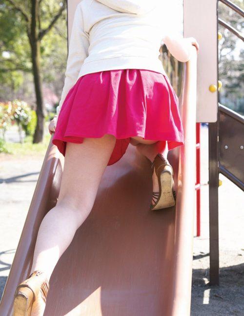 公園少女 画像027