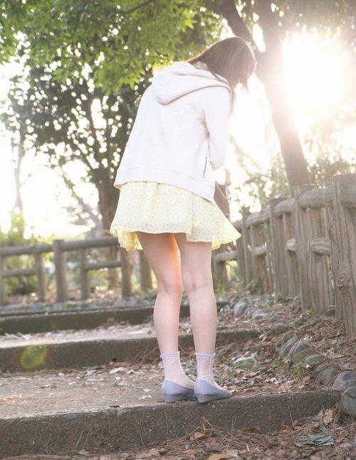 公園少女 画像035