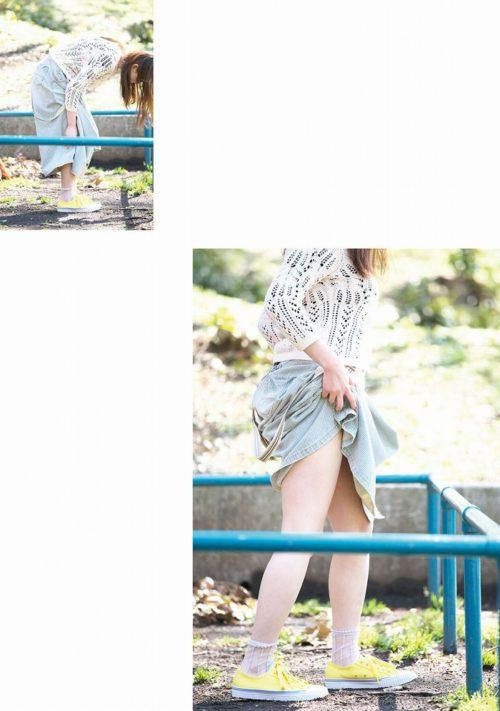 公園少女 画像041