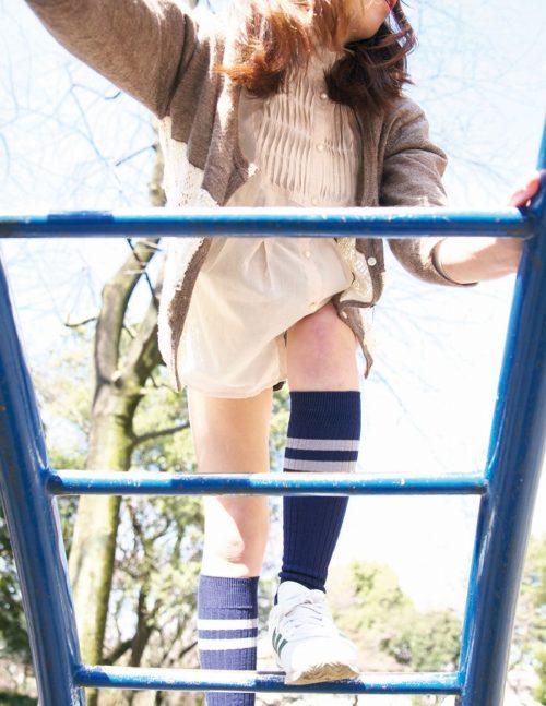 公園少女 画像047