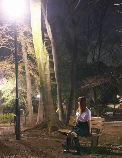 公園少女 画像055