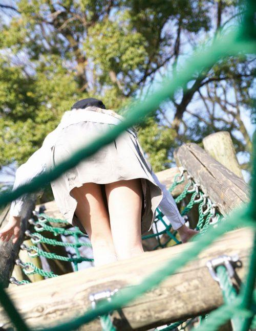 公園少女 画像063