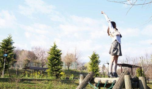 公園少女 画像065