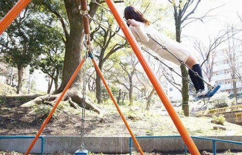 公園少女 画像072