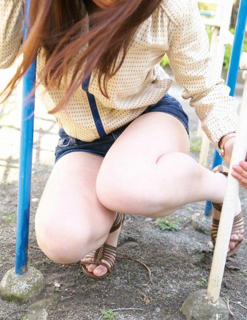 公園少女 画像087