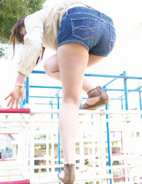 公園少女 画像088