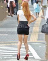 素人ミニスカ 画像105枚!パンスト&生脚の街撮りエロ画像!