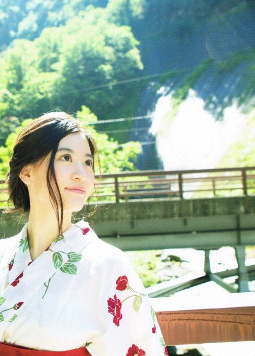 上西恵 浴衣画像055