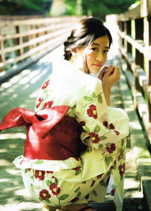 上西恵 浴衣画像058
