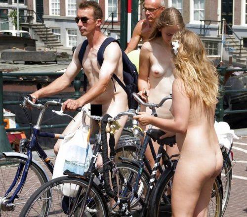 全裸サイクリング 画像107