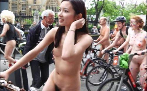 全裸サイクリング 画像147