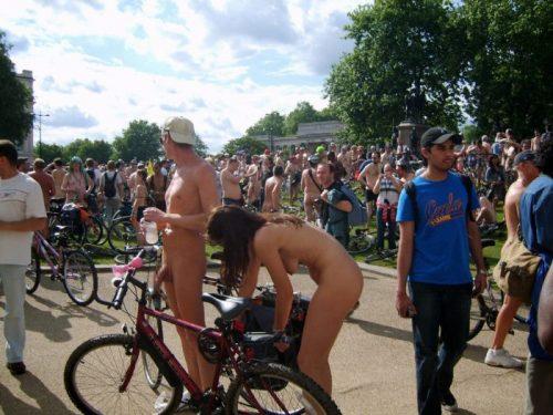 全裸サイクリング 画像153