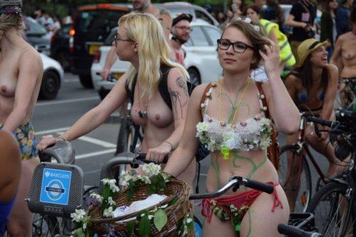全裸サイクリング 画像156