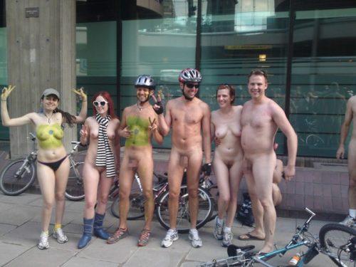 全裸サイクリング 画像174
