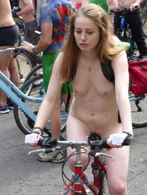 全裸サイクリング 画像180